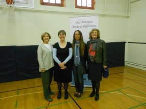 Florene Shuber, Katherine Barber, Jan Lum and Paula Glasgow